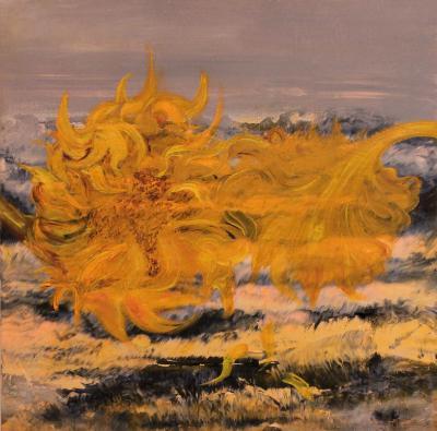 Floating Sunflower - Sold