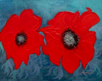 SOLD-Red-Poppy I-