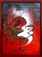 Inner Calligraphy #5 - $1000.00