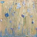 Where the Blue Flowers Are - $600.00