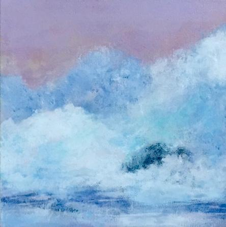 Sunset with High Surf - $260.00