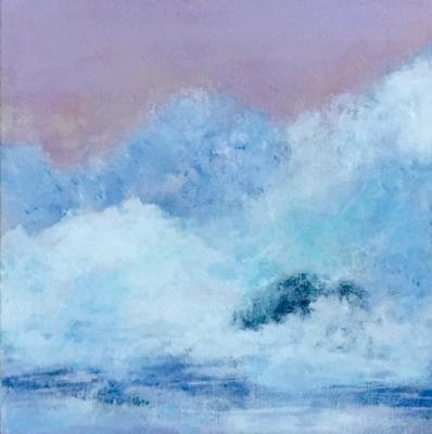 Sunset with High Surf - $290.00